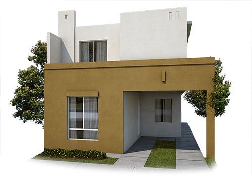 fachada-a-del-modelo-castilla-iv-7-residencial-capellania-en-apodaca